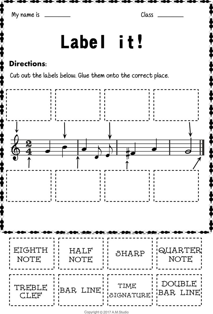 126 best tracing music notes worksheets images on pinterest lets learn the music symbols no prep printables bundle buycottarizona Image collections