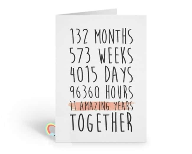 25 Steel Anniversary Gifts 11th Year To Show The Strength Of Your Love 11th Anniversary Gifts Anniversary Card For Parents Steel Anniversary Gifts