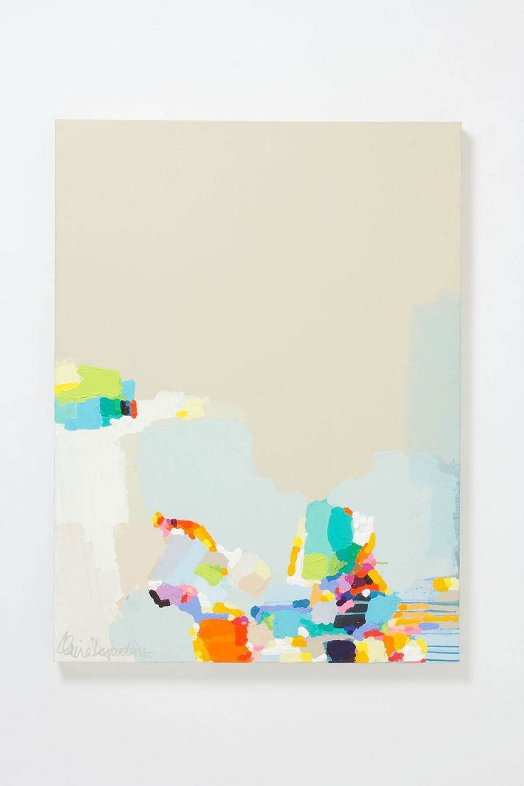 Restless By Claire Desjardins - Anthropologie.com #colorful #abstract #art