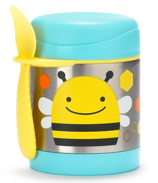 Skip Hop: Zoo Insulated Food Jar - Bee $23.99