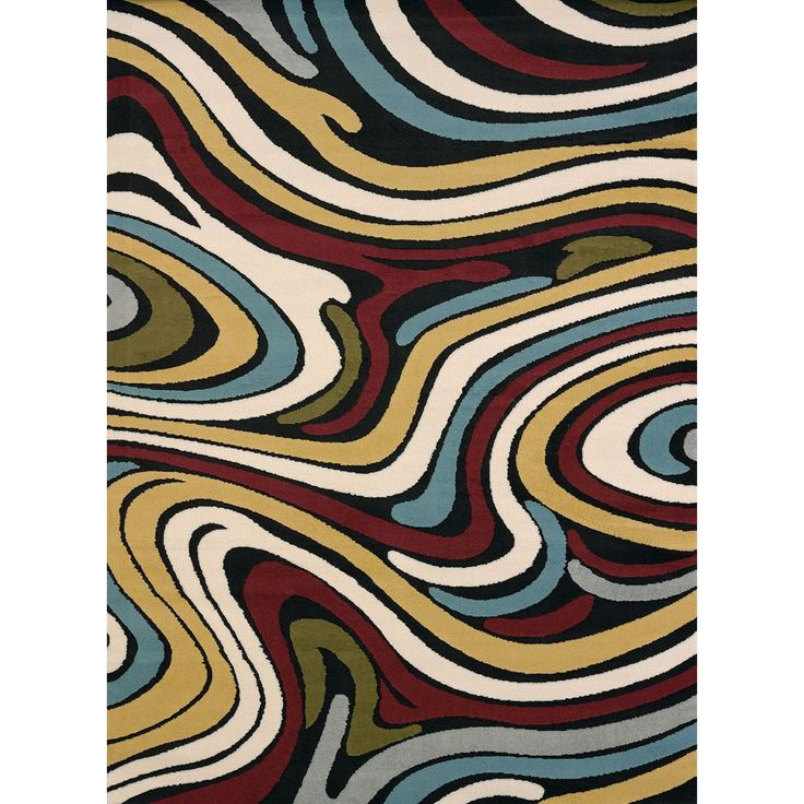 Bethan Multi Retro-style Runner Rug (1'10 x 7'2) - Overstock™ Shopping - Great Deals on Runner Rugs