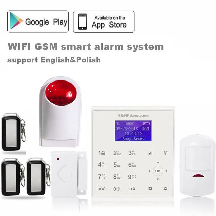 2.4G quad band wifi gsm alarm system gprs sms two way intercom 433 MHz wireless alarm system home security with wireless siren -- AliExpress Affiliate's buyable pin. Click the image to view the details on www.aliexpress.com