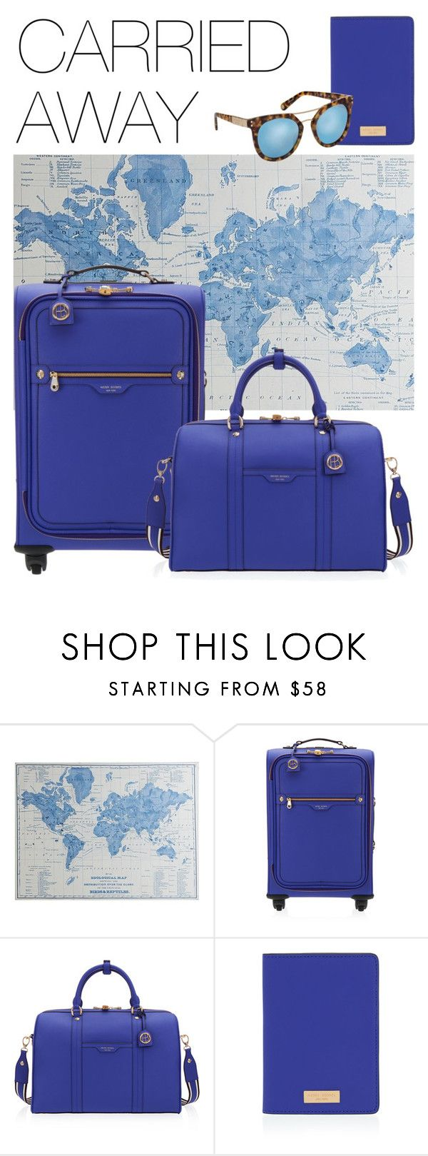 Carried away: master the art of travel with stylish luggage and accessories for your journey.