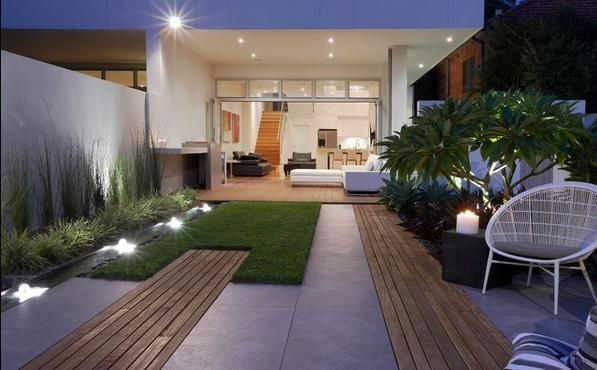 fotos jardins modernos:Small Modern Garden Design Ideas