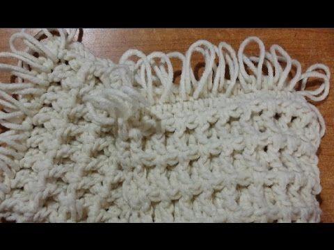 "Sciarpa unisex all'uncinetto ""tridimensionale"" - crochet scarf - bufanda en crochet - YouTube"