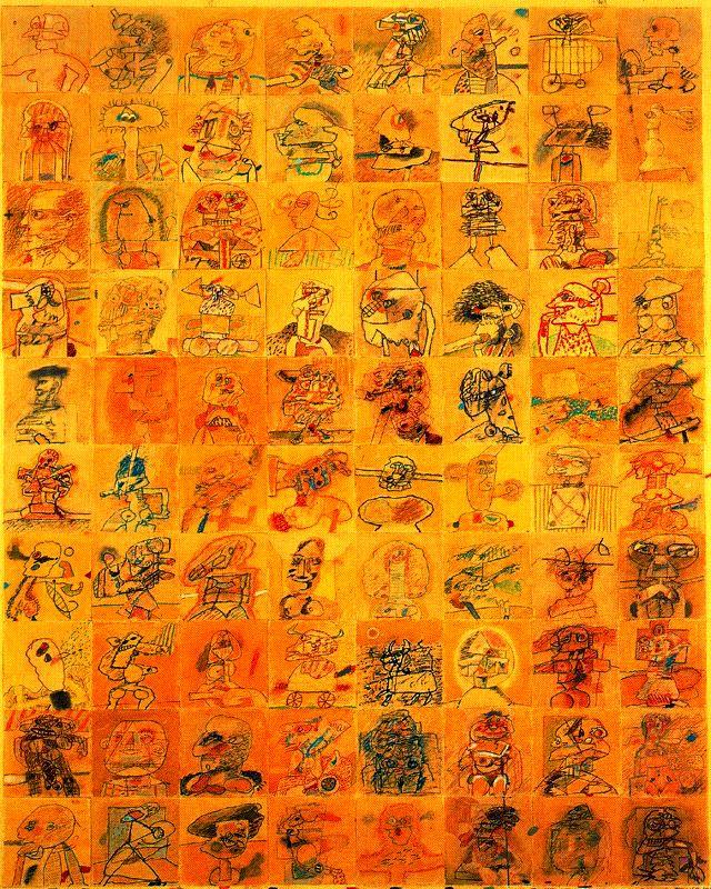 ALFONSO FRAILE. 80 personajes nº 3. 1975.