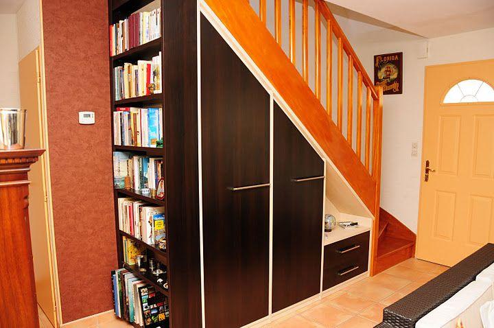 sous escalier, Étagères sous escalier and Aménagement sous escalier