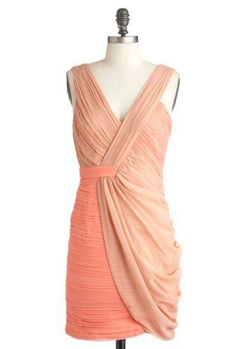Something Neutral Dress, #ModClothBirthday Dresses, Darling Dresses, Style, Neutral Dresses, Fifty Shades, Retro Vintage Dresses, Gorgeous Dresses, Coral Bridesmaid Dresses, Coral Dresses