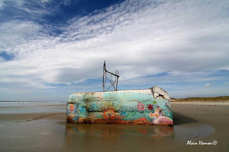 plage de la torche à Plomeur, Finistère