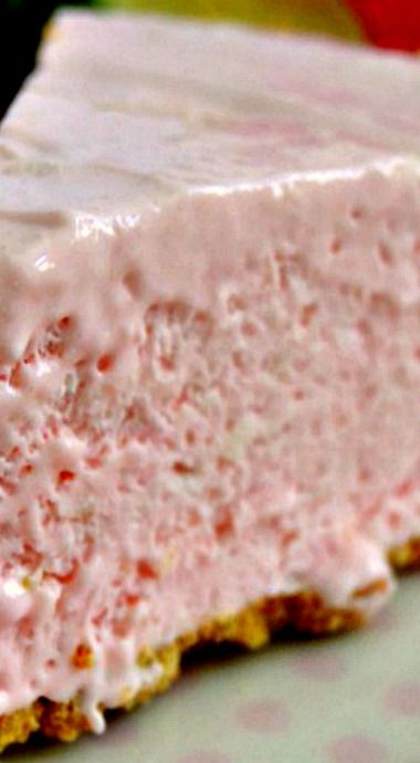 No Bake Pink Lemonade Cheesecake Pie