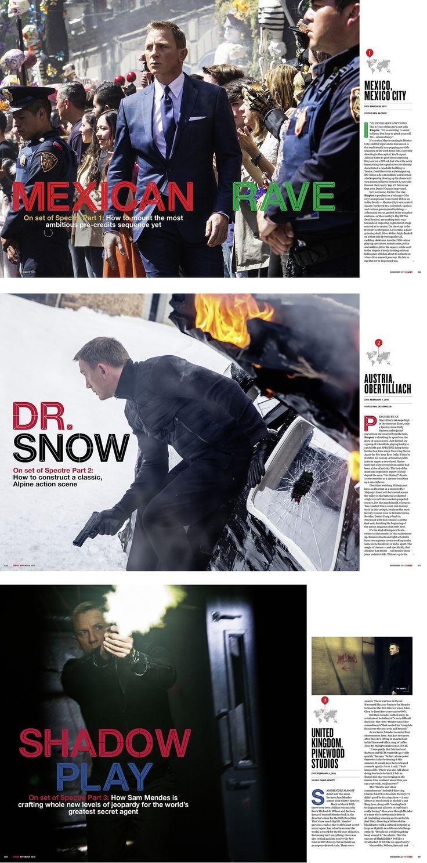 Spectre / Empire Magazine by Adam Gerrard