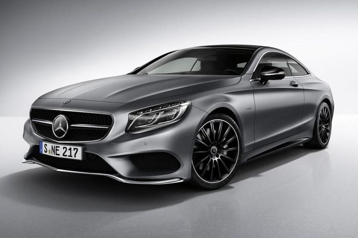 "Mercedes-Benz S-Klasse Coupé ""Night Edition"": Sondermodell mit AMG-Style"