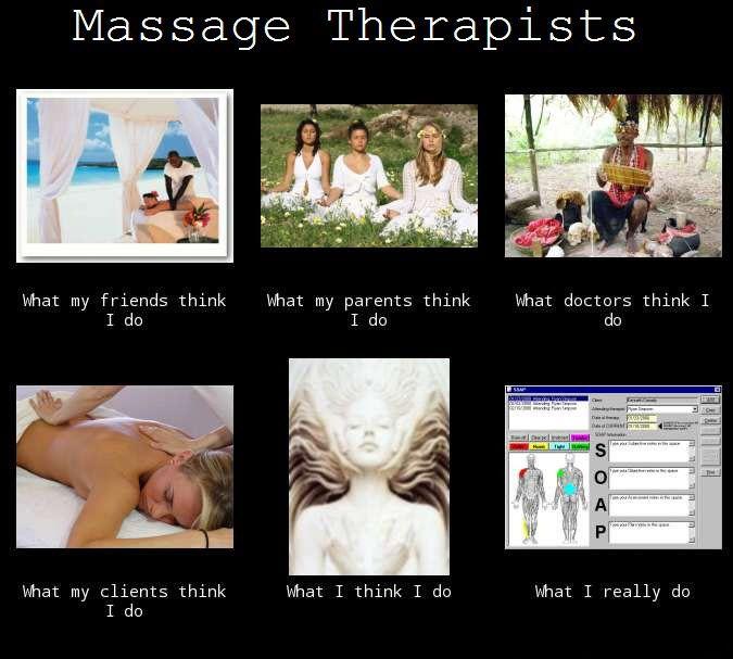 Massage Therapist What I Do