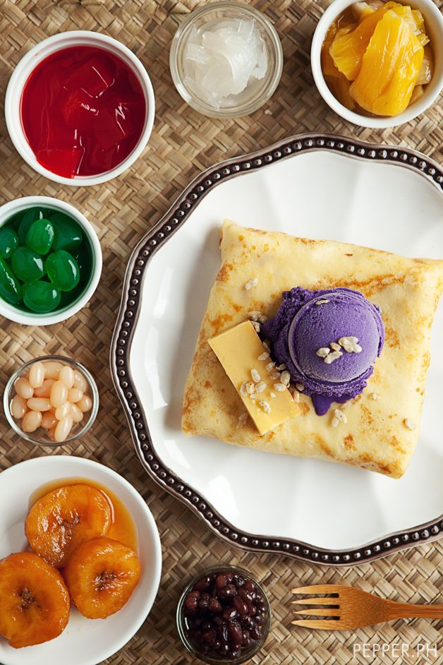 Halo-Halo Crêpe: Everything But The Kitchen Sink | Pepper.ph