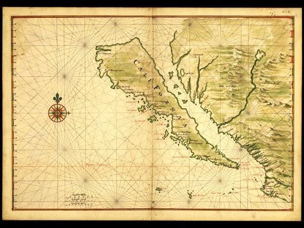 The island of California?