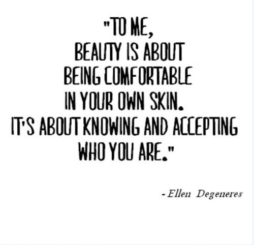 Oh Ellen, so wise!!