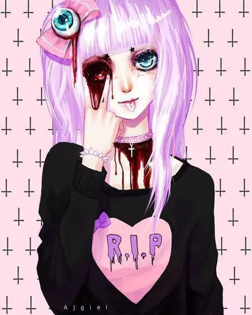 Pastel Goth! on We Heart It