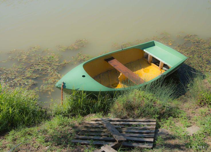 sleeping baby boat