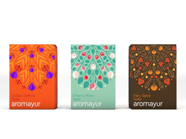 You're Going to Want One of Each of Aromayur's Ultra-Luxe Soaps — The Dieline | Packaging & Branding Design & Innovation News