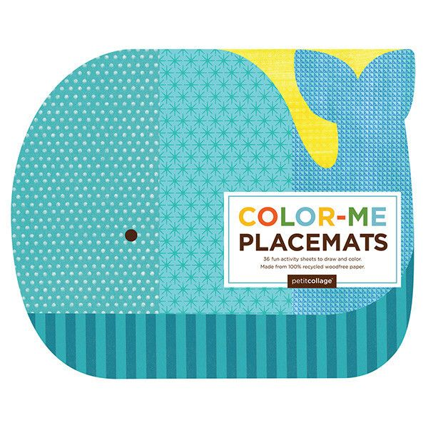 Colour-Me Placemat - Activity Pad