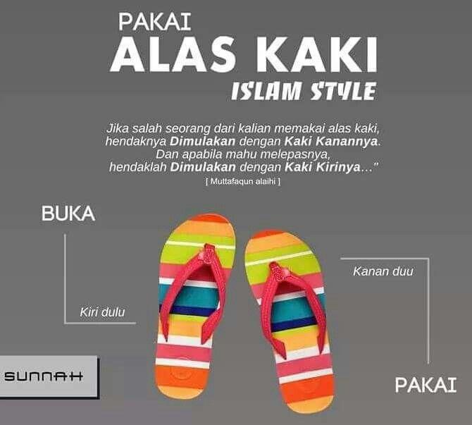 Islam sudah lengkap dan sempurna.  Hatta memakai alas kaki pun telah diajarkan oleh Nabi sallallahu 'alaihi wasallam.  Islam sudah sempurna.