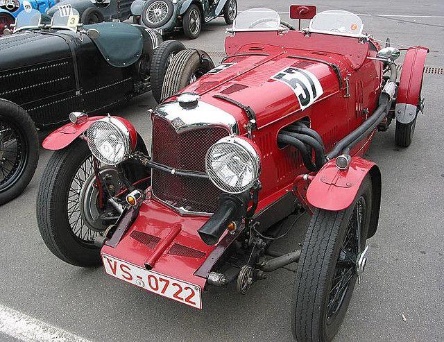 Riley vintage sports car - 1 by Fine Cars