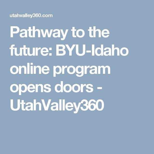 Pathway to the future: BYU-Idaho online program opens doors - UtahValley360