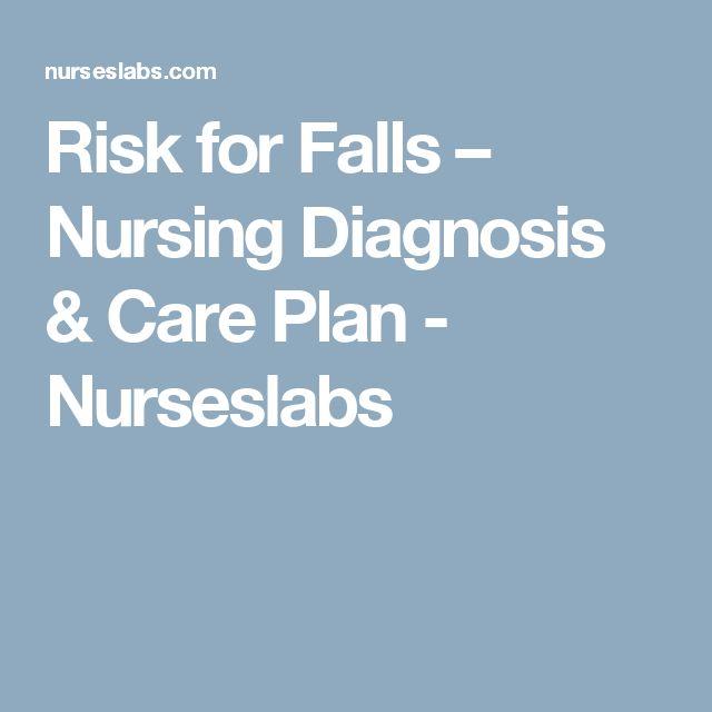Risk for Falls | Community health nursing, Nursing exam ...