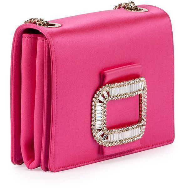 Roger Vivier Tiffany Silk Micro-Chain Shoulder Bag ( 1 0a36a9dc29b4e