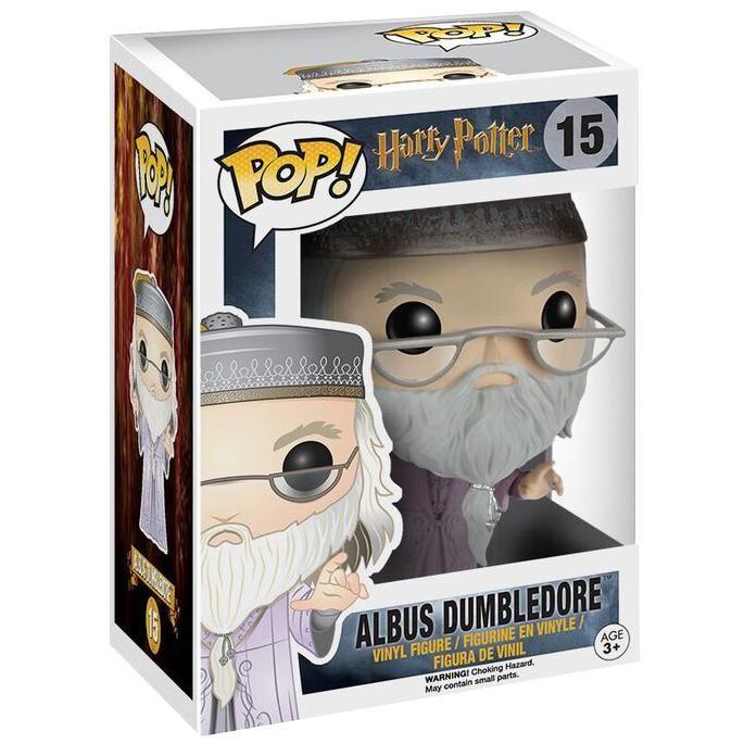 Harry Potter - Funko Pop! - Dumbledore med tryllestav  - samlefigur - høyde ca. 10 cm - materiale: vinyl