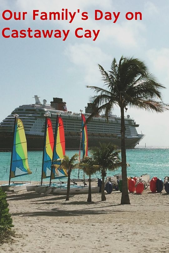 Visiting the always magical Castaway Cay while on our Very MerryTime Christmas Disney Cruse (Disney Dream)