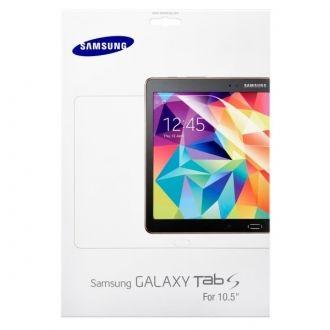 Folia ochronna do smartfona Samsung Galaxy Tab S (wersja 10.5 cala). Folia skutecznie ochroni wyświetlacz urządzenia przed zadrapaniami i zarysowaniami, jednocześnie nie pogarszając widoczności ekranu. Folia jest bardzo łatwa do założenia, w zestawie znajdują się wszystkie potrzebne akcesoria.