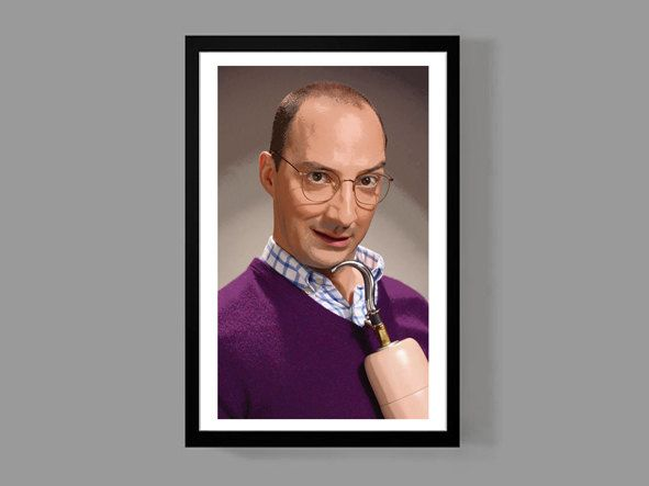 Arrested Development: Buster Bluth Custom Poster Print - Portrait, Cult Classic, Comedy, TV, Funny, Quirky by MusicAndArtCoUSA on Etsy