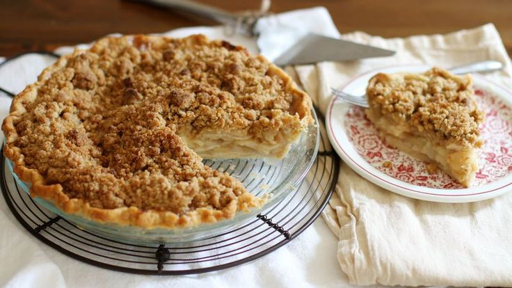 Embrace apple season and bake up this classic crumble-topped apple pie today.