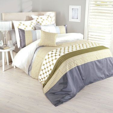 KOO Elite Catina Quilt Cover Set Fern | Spotlight Australia