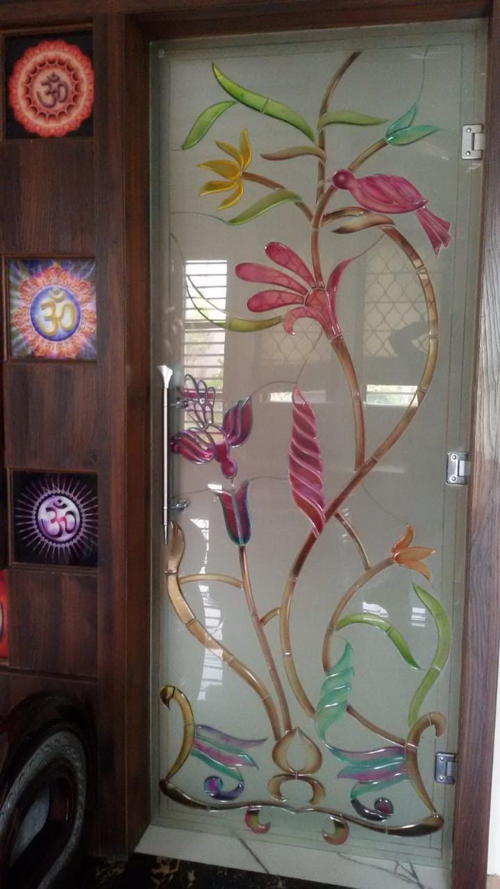 Glass Design Full Glass Crystal Door Glass Design Room Door