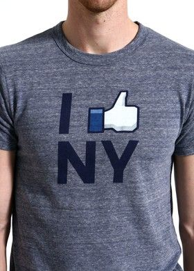I LIKE NY. A must for Facebookers. $30