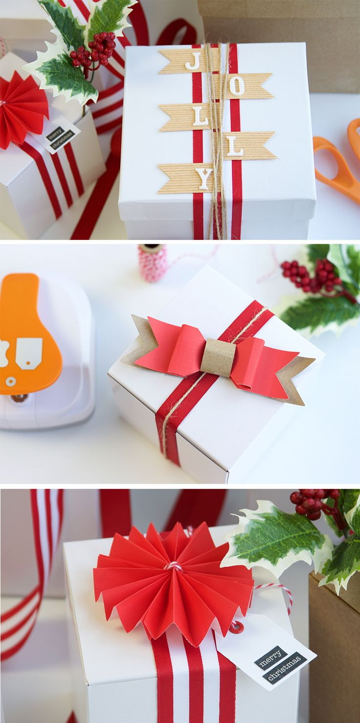 Make your Christmas gifts stand out underneath the tree with our beautiful DIY gift toppers. We've put together three different topper ideas to keep your gift wrapping aesthetic fun and unique! Click in for the full tutorial.