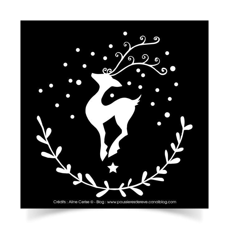 Stickers Noël en fête ! - Aline Cerise