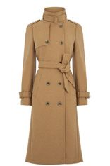 You can bet your bottom dollar the military trench coat isn't going to fall out of favour. And in a classic shade of camel, it'll keep you looking sharp for seasons to come.