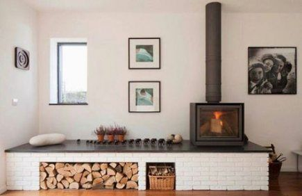 Wood burning stove insert corner 50+ ideas