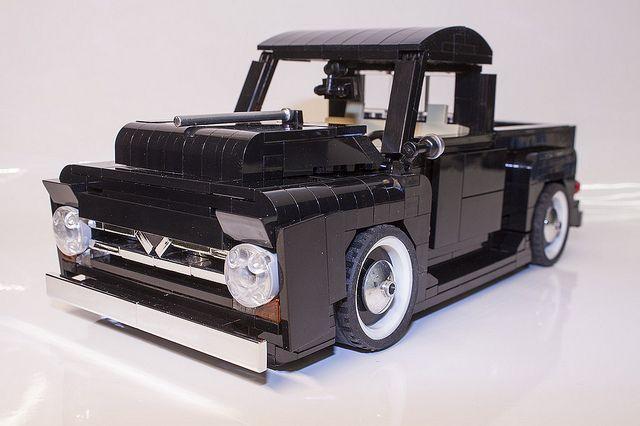 LEGO FORD F-150 (50s) - 1:18 - custom car #2 | Flickr - Photo Sharing!