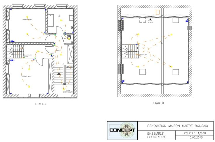 Plan de démolition suite DCE plan de rénovation sur roubaix