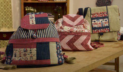 Bolsas e mochilas em patchwork - Marcia Satiko (the best)
