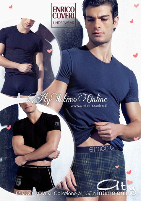 Intimo Uomo e completini intimi Enrico Coveri. #coveri #intimo #uomo http://www.atyintimoonline.it/69-coordinati-moda-intimo-uomo