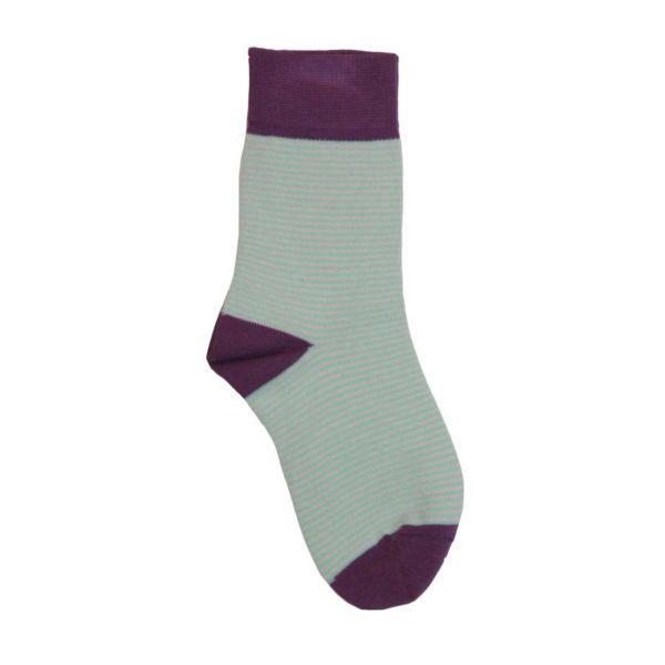Green Cotton Παιδικές Κάλτσες Zahia από 100% Οργανικό Βαμβάκι, Hyancith - Sunnyside