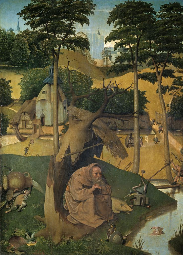 The Temptation of St Anthony, 1490.