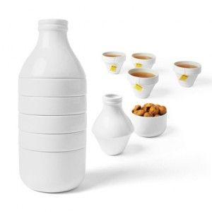 """Juego de Tazas de Café y Té """"WithMilk"""" / Set Cups of Coffee and Tea """"WithMilk"""" · Tienda de Regalos originales UniversOriginal"""