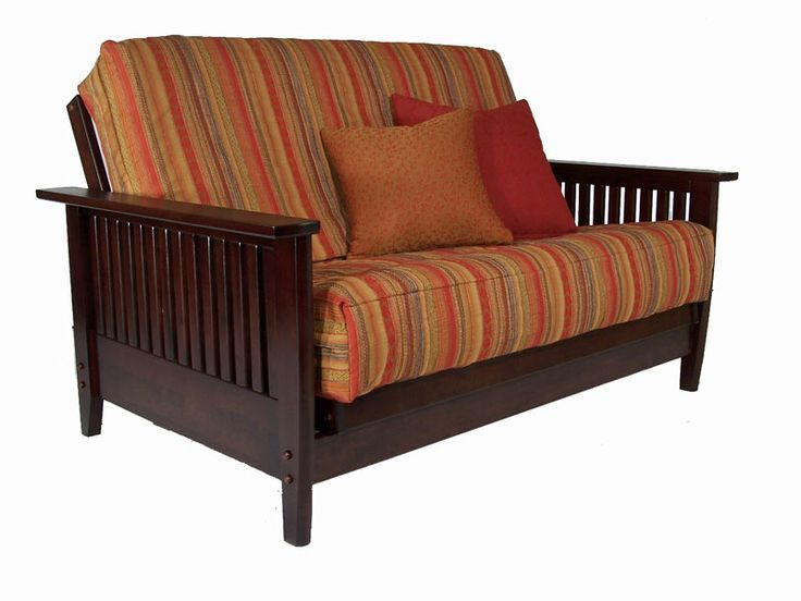 Denali Dark Cherry Loveseat Futon Set by Strata Furniture (Strata Furniture)