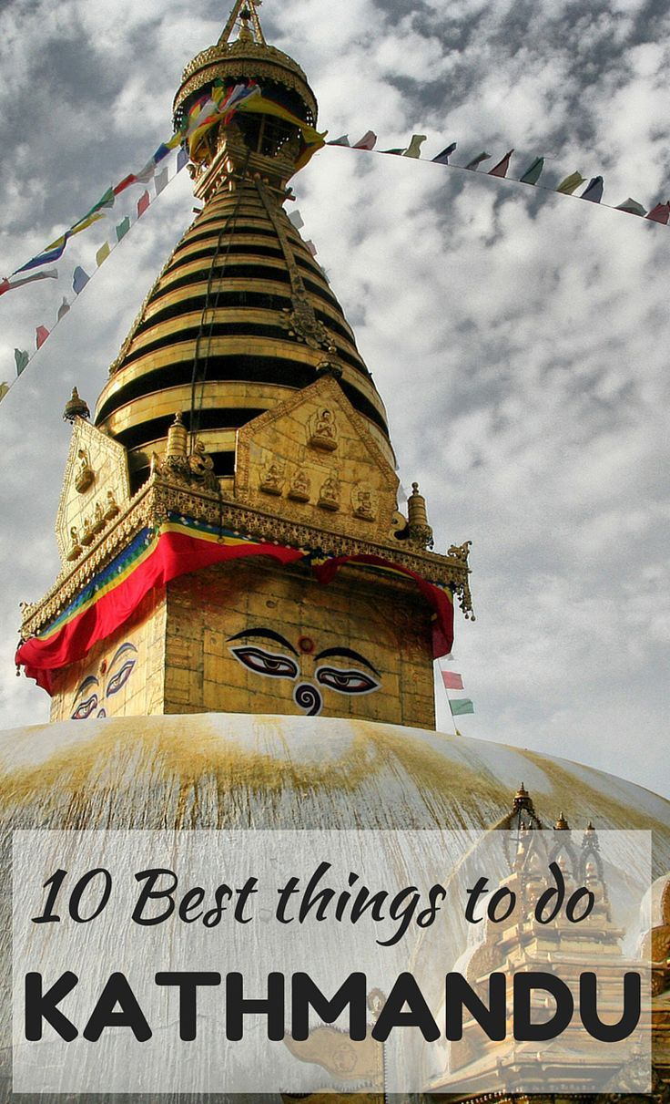 Check out the Top 10 best places to visit in the amazing city of Kathmandu. A place full of history, religion and beautiful spots!